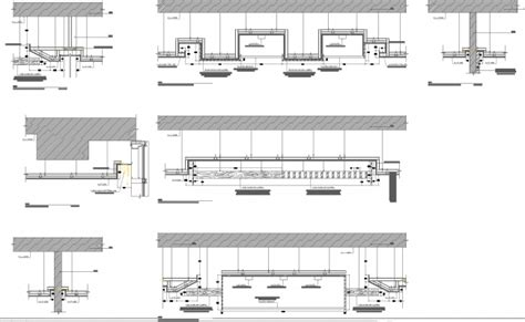 House Plan Layout by False Ceiling Detail Drawings Cad Files