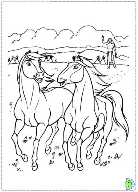 free spirit stallion of the cimarron coloring pages