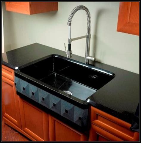 black cast iron kitchen sink kohler cast iron kitchen sink cleaner black sinks