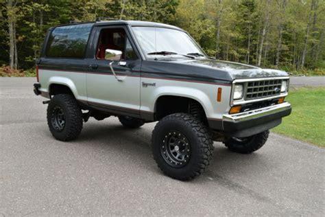 1988 ford bronco ii xlt sport utility 2 door 2 9l like