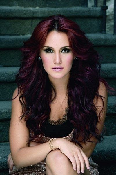how will black cherry hair dye come out witj red hair hair color oooohhhh love love love this color