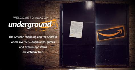 amazon underground app amazon underground offers a way to get over 10 000 worth