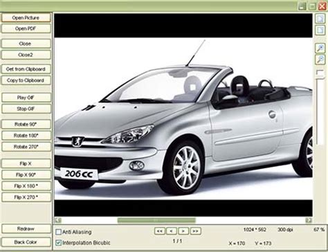 gdviewer ocx image viewer activex main window