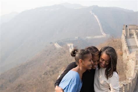 the first ladys trip to china the white house the first lady s travel journal visiting the great wall