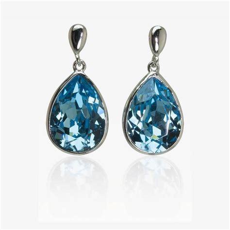 Swarovski Earrings montana earrings made with swarovski crystals