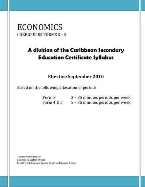 Economic Analysis Of Outline by Economics Outline