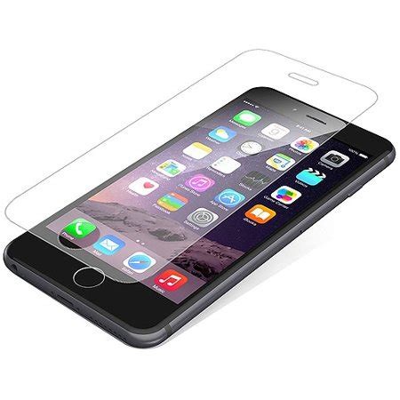 zagg invisibleshield hdx screen protector for apple iphone 8 plus iphone 7 7s plus iphone 6 6s