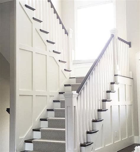 Wainscoting Staircase Ideas 25 Best Ideas About Wainscoting Stairs On