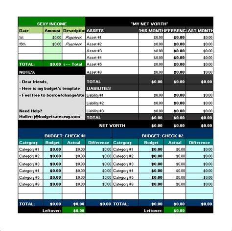 budget template excel free budget template 41 free word excel pdf format