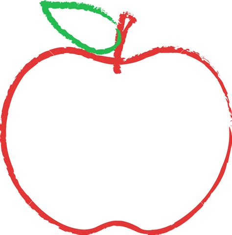 apple drawing apple clipart sketch pencil and in color apple clipart