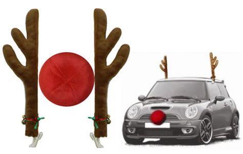 13 deals ships free reindeer car antlers nose set