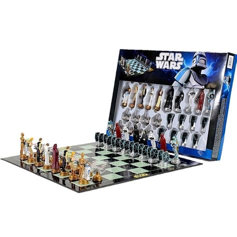 star wars chess sets star wars chess set ozgameshop com