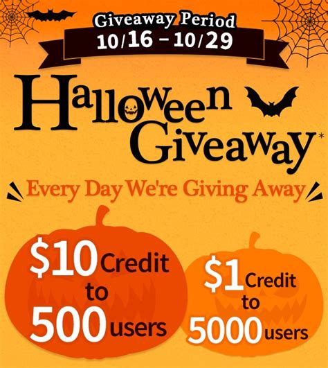 Recipe Com Daily Giveaway - mercari halloween giveaway the unextreme