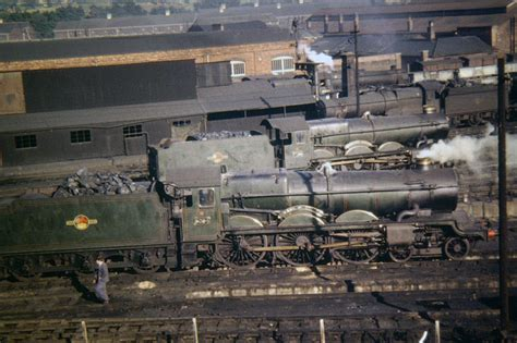 Gwr Engine Sheds by Railways In Worcestershire
