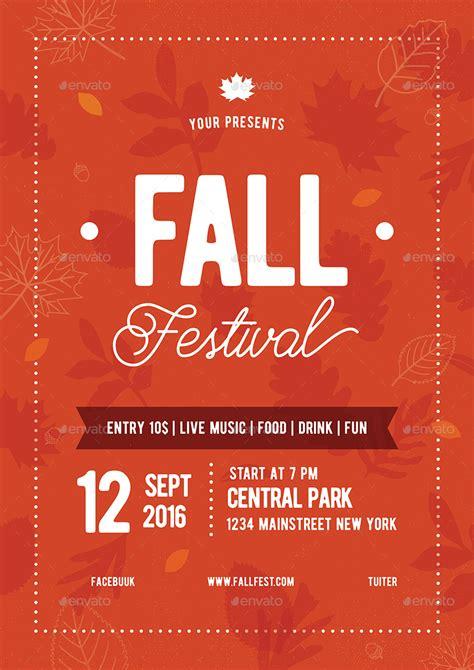 fall festival flyer   vynetta graphicriver