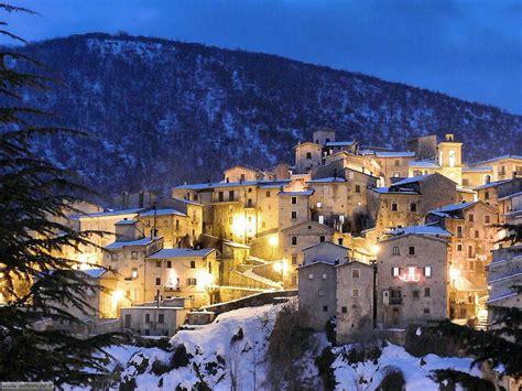 scanno web viaggio a scanno uno dei borghi pi 249 belli d italia