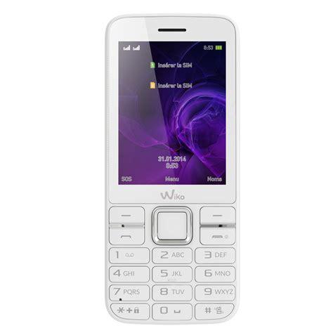 blanc mobili wiko kar 3 blanc mobile smartphone wiko sur ldlc
