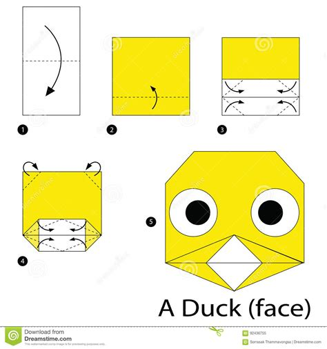 How To Make An Origami Duck - origami duck gallery craft decoration ideas