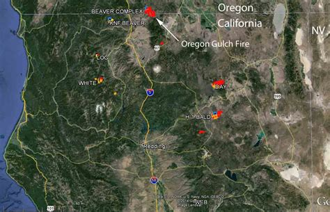map of oregon wildfires august 2014 volcano madness californiadisasters oregon gulch