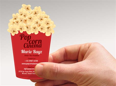 Popcorn Business Cards