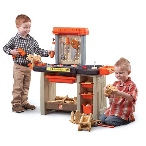 step 2 work bench workspace craftsman workbench home depot toy work bench