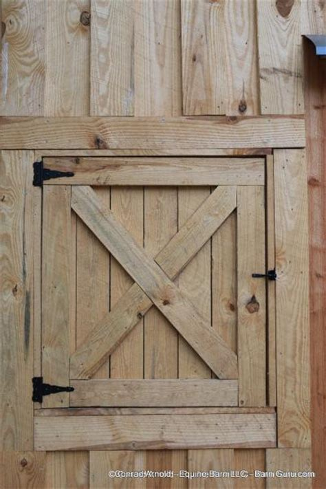 Low Cost 2 Stall Horse Barn Option Barn Door Cost