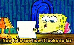 Spongebob Doing His Essay by Hashtagnyu 10 Spongebob Stages Of Writing The Paper Of
