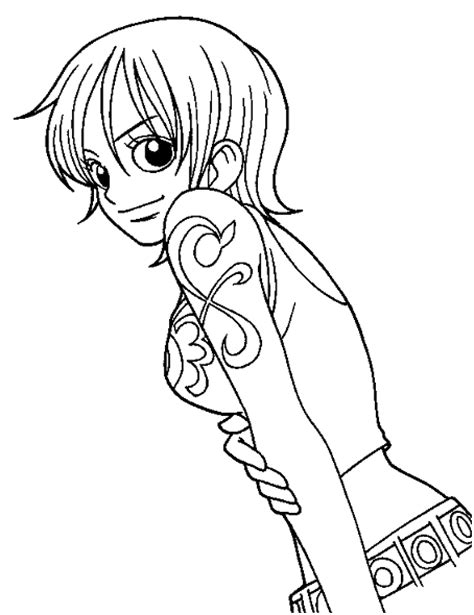 Anime Manga One Piece Coloring Pages Printable Anime Printable Coloring Pages