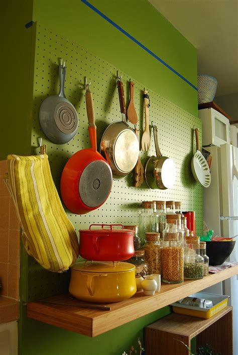 kitchen pegboard ideas 31 best images about kitchen pegboard ideas on pot racks small kitchens and in kitchen