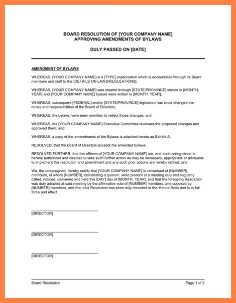 church bylaws template