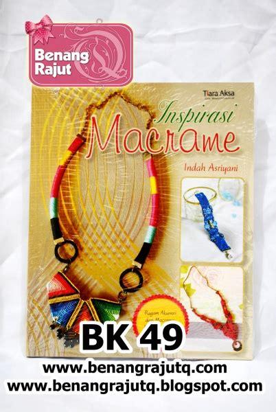 Kalung Pita Imporkalung Imporkalung Vintage buku macrame dan kerajinan buku 49 inspirasi macrame kalung gelang anting benangrajutq