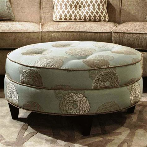 round leather storage ottoman coffee table round coffee table stunning round leather coffee tables