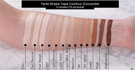 light medium honey tarte shape tape nars soft matte complete concealer and tarte shape tape