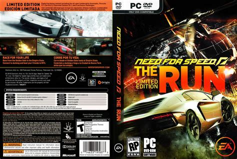 Kaos Need For Speed A compressedstuffs need for speed the run special edition