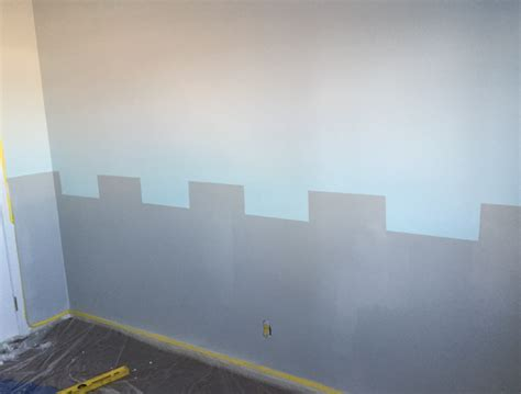 colorfully behr how to paint a castle wall