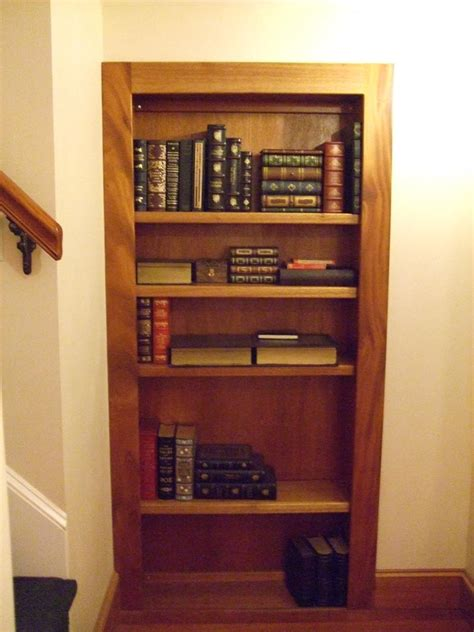 secret bookcase door stashvault