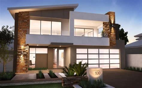 desain atap rumah 2 lantai koleksi foto desain rumah minimalis 2 lantai tak depan