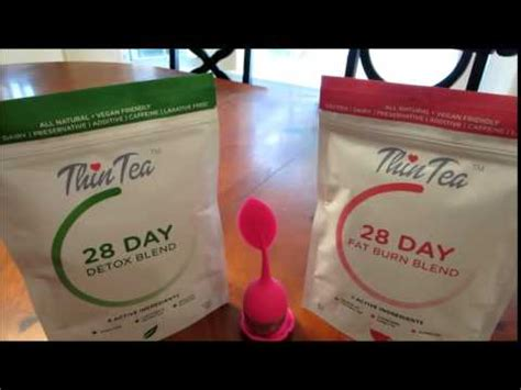 Thin Tea Detox International Reviews by Thintea Detox And Burn Introduction Tea