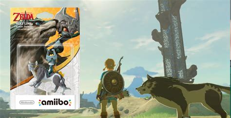 Nintendo Amiibo Wolf Link standalone wolf link amiibo coming to australia for breath of the support