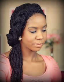 Cute box braid hairstyles how to make them heart bows amp makeup