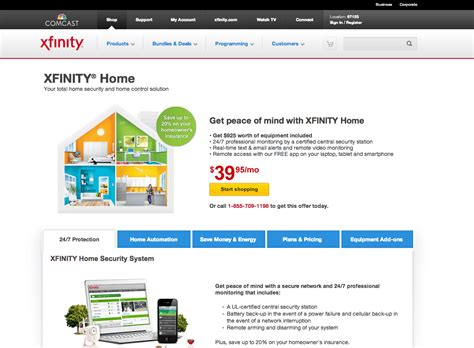 comcast home security xfinity reviews real customer