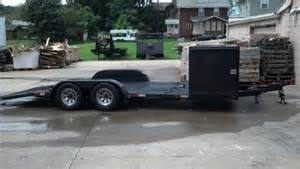 Used Open Car Trailers For Sale In Ohio Open Race Car Trailer For Sale In Uhrichsville Oh