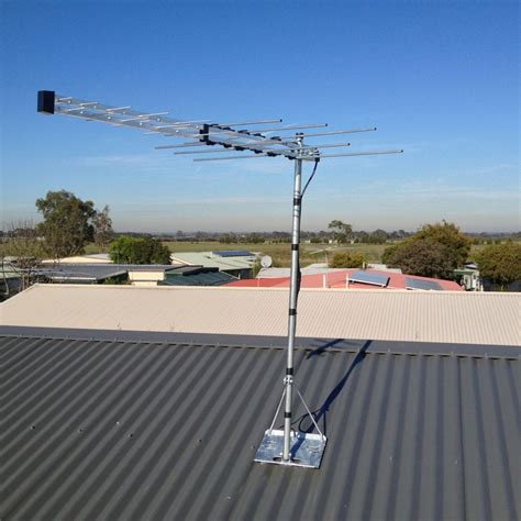 new house installations australian tv antennas