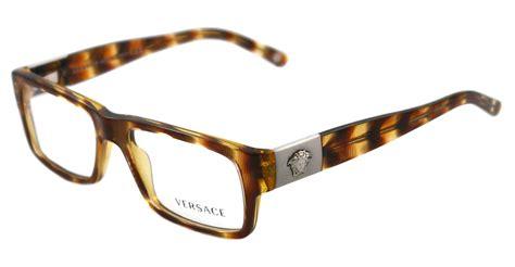 new versace eyeglasses ve 3136 brown 874 ve3136 auth ebay