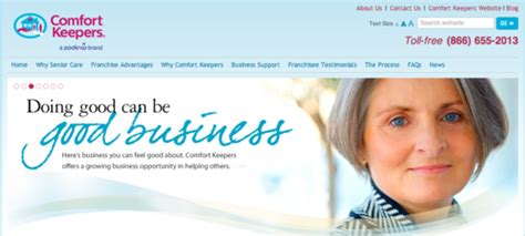 comfort keepers rates comfort keepers franchise info