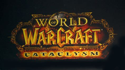 world of warcraft patch logos cataclysm expansion will rock world of warcraft blizzard