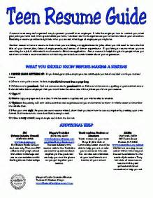 Resume Sample Teenager by Teen Resume Template Health Symptoms And Cure Com