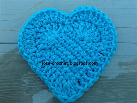heart pattern in crochet jos 233 crochet free crochet pattern heart