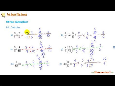 primaria tic 4 grado multiplicaci 243 n de fracciones de cuarto grado de primaria
