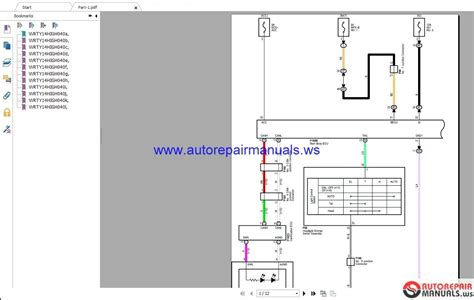 toyota highlander   wiring diagrams auto repair